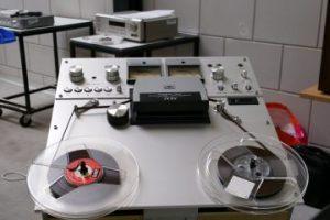 bandrecorder reparatie